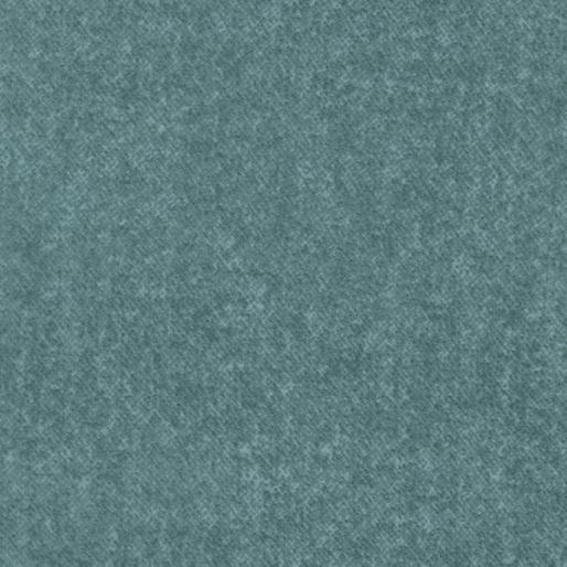 Wool Tweed Flannel Aquamarine