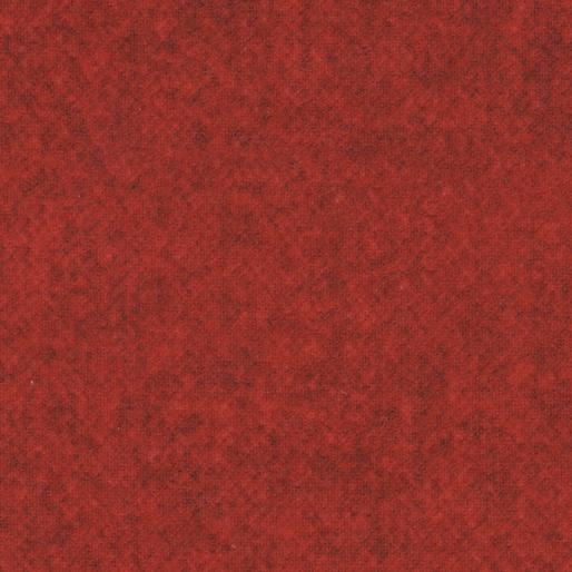 BEN- Winter Wool Tweed Flannel Paprika