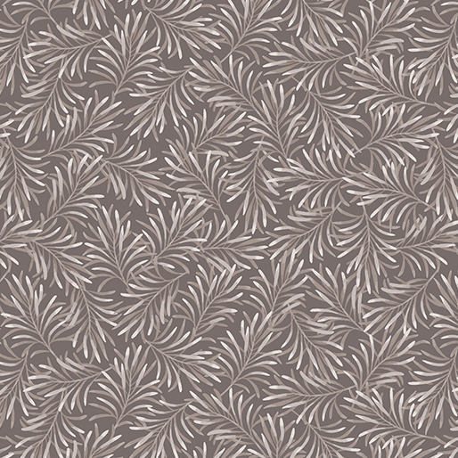 Boughs of Beauty Pewter Gray 108 Wide Back