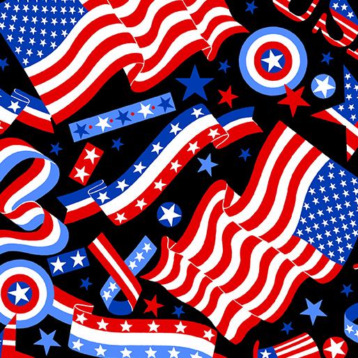 Go USA Black 9701-12