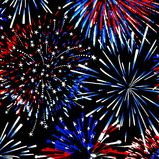 Firework Celebrate Blk 9703-12