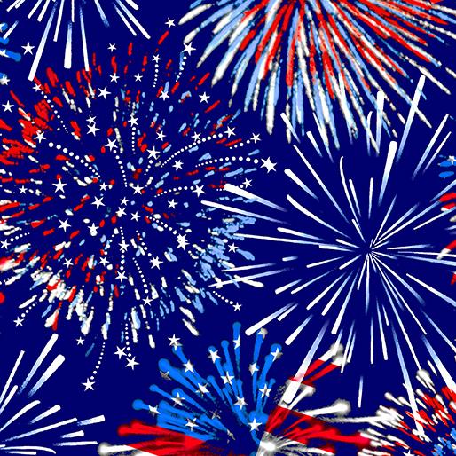 Firework Celebration Blue