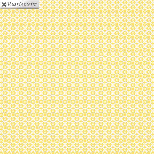 Shimmery Lattice Yellow