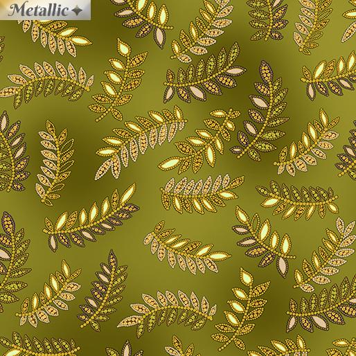 Radiant Ferns Green