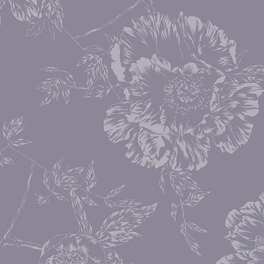 Wide Shadow Flower Smoke Gray 9748W 13