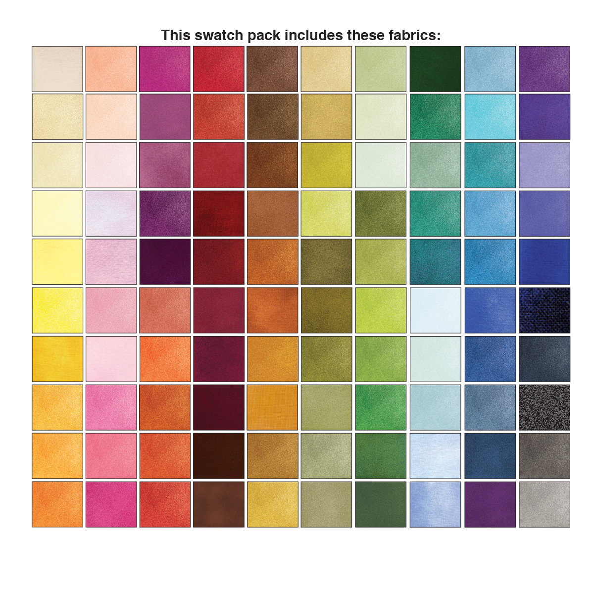 5 in. squares Shadow Blush 100 pc