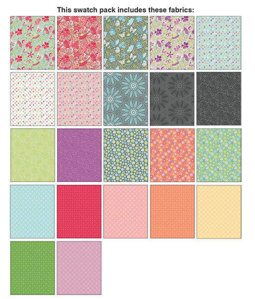Meadow Dance 10x10 Pack - 42Pc