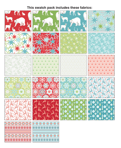Nordic Holiday 10x10 Pack