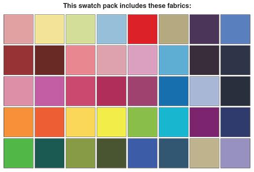 5 in. squares Superior Solids 5x5 Pack