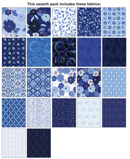 Blue Brilliance Strip-pies