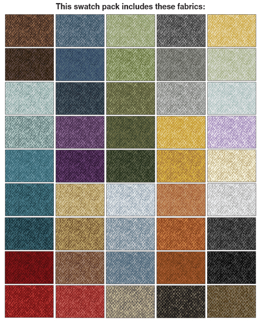 Benartex - Winter Wool Cotton Prints - 10x10 Pack
