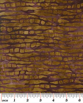 Benartex Tropical Breeze Balis Tree Bark Gold/Sienna