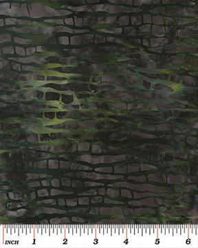 Benartex Tropical Nights Balis Tree Bark Ash/Green