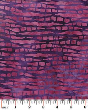 Benartex Tropical Nights Balis Tree Bark Pink/Purple