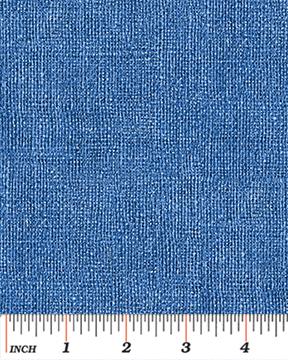 Benartex - Burlap Blue 757-57