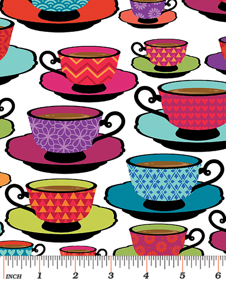 Tea Cups and Saucers: Love's Brewing for Kanvas Studio