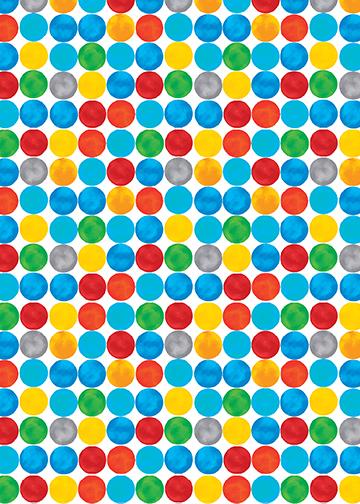 Artist Dot White/Multi