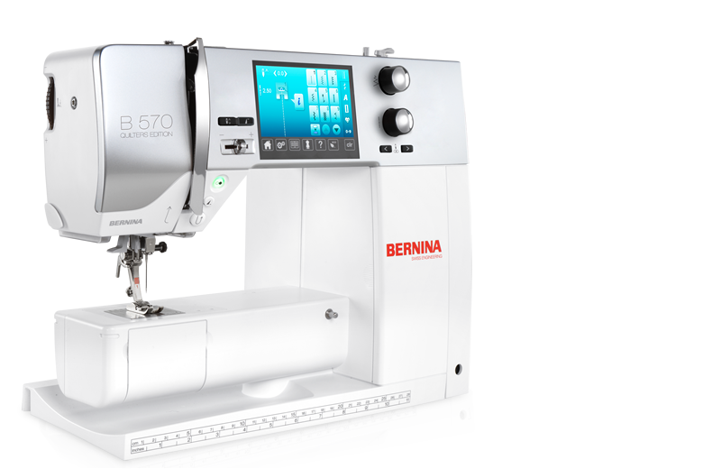 BERNINA 570 QE - The versatile one with the wide range of functions