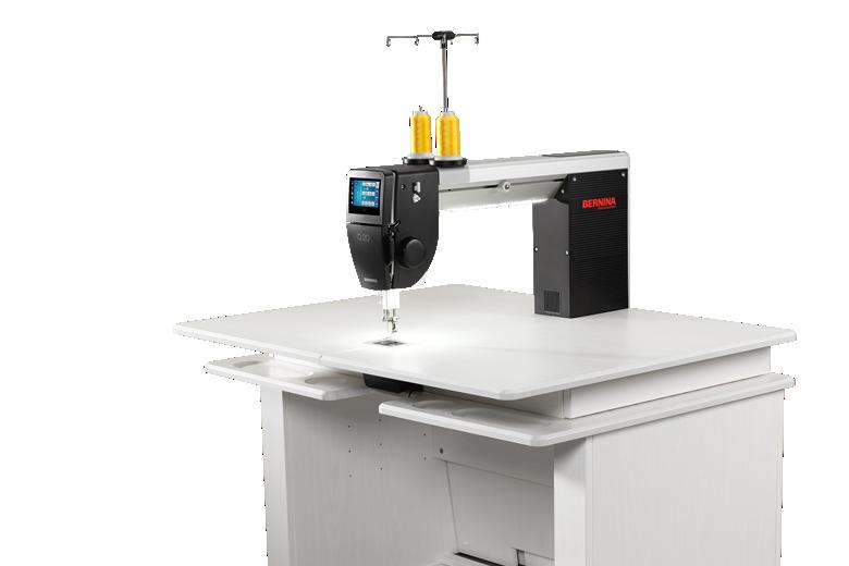 BERNINA Q 20 - sit-down longarm quilting machine for BIG Quilt-artwork
