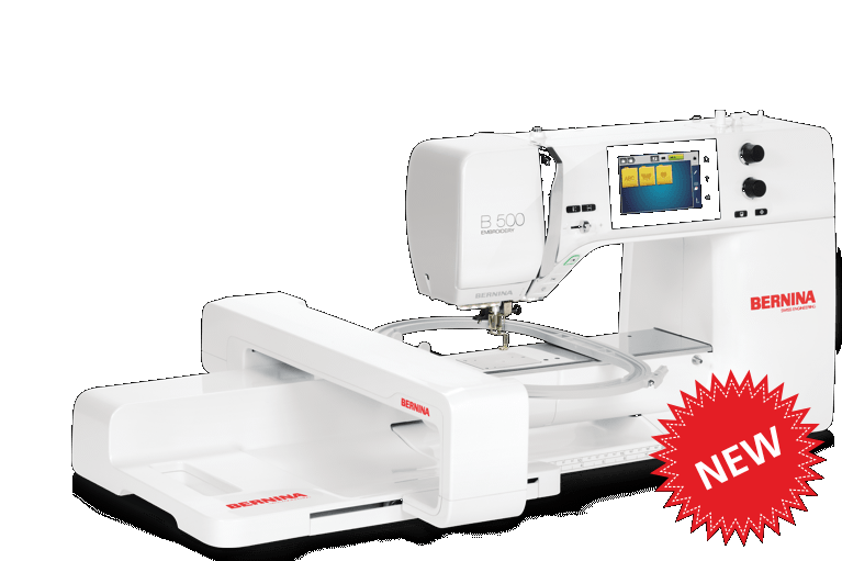 Bernina 500 with Embroidery Module