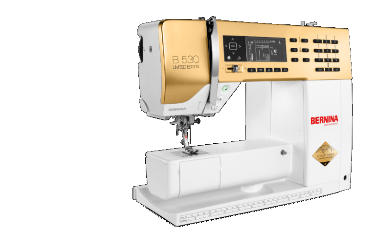 Bernina 530 Gold Anniversary Editionwith Free Golden #1 Foot