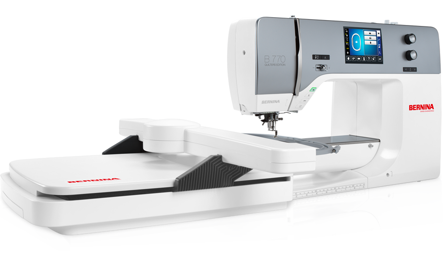 Bernina 770 QE with embroidery