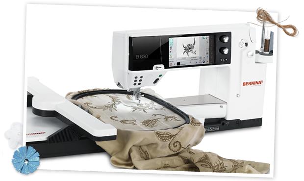 Bernina 830E  - Embroidery & Sewing Machine (incl. BSR) Trade In