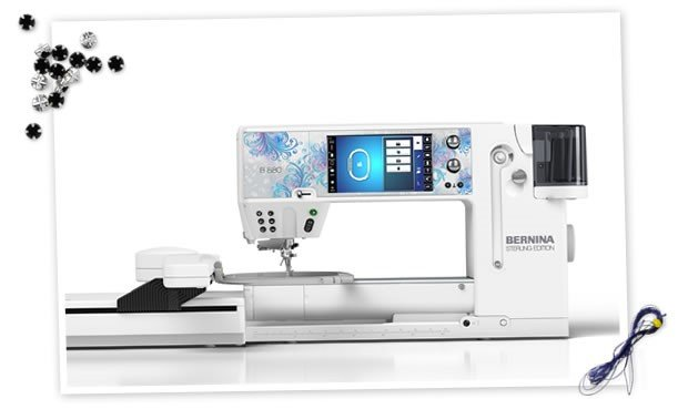 BERNINA 880E  Sewing & Embroidery Machine