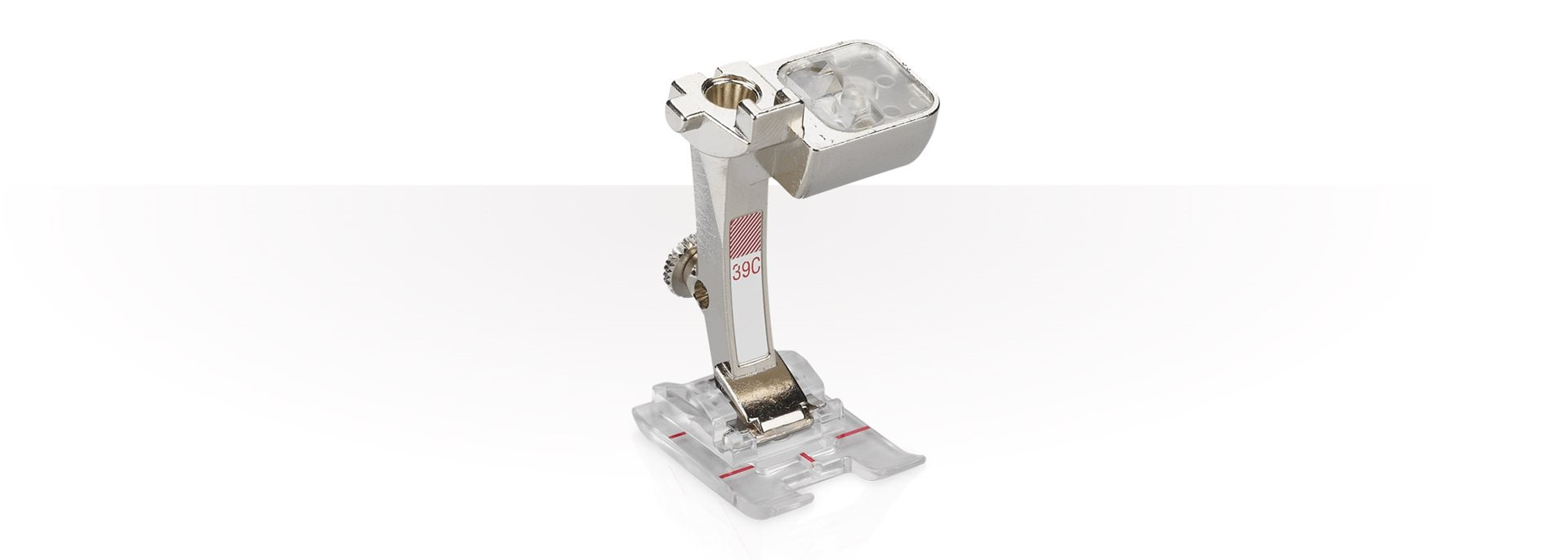 BERNINA Embroidery Foot with Clear Sole #39C