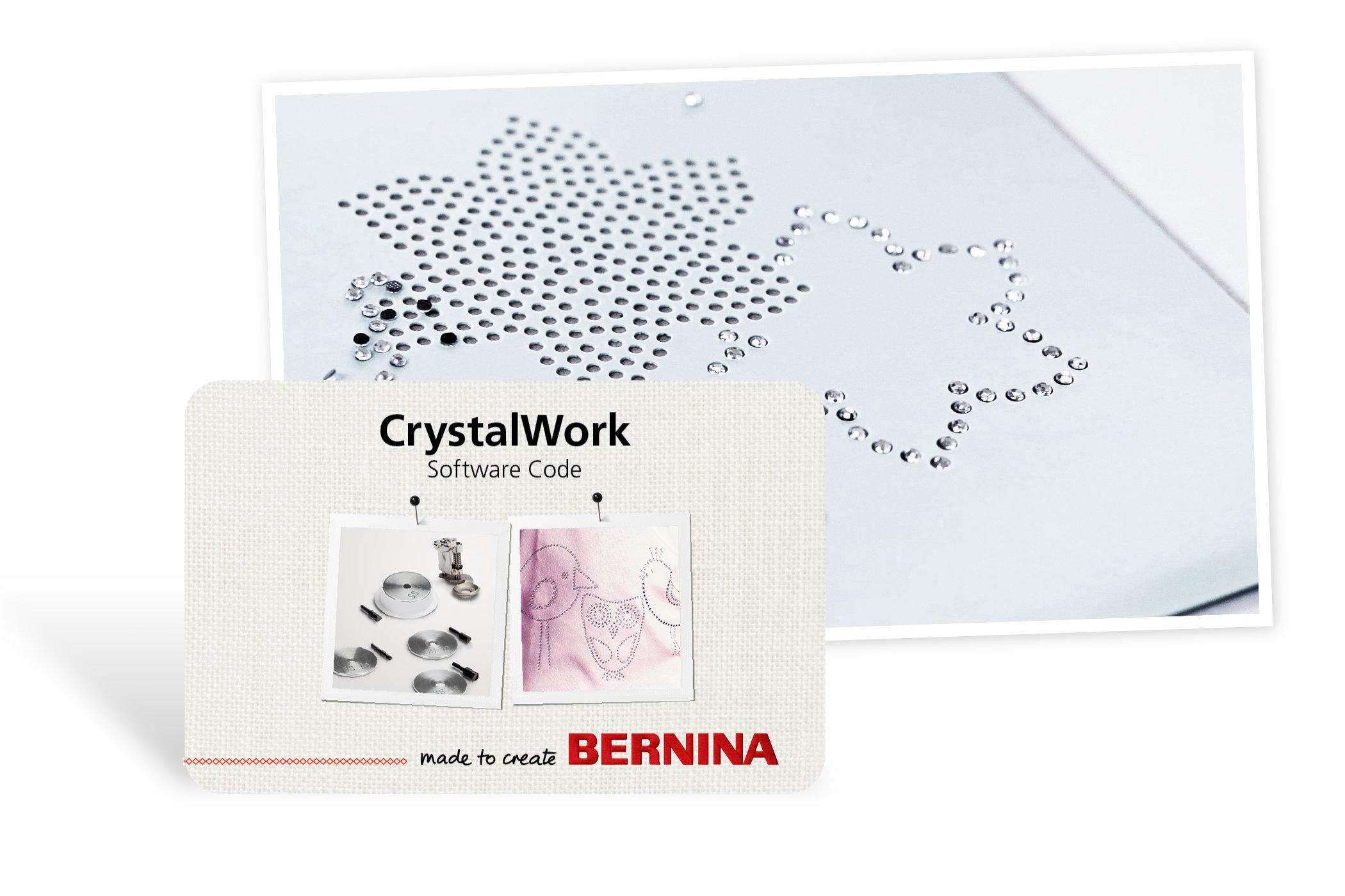 BERNINA CrystalWork: Creative Design Software