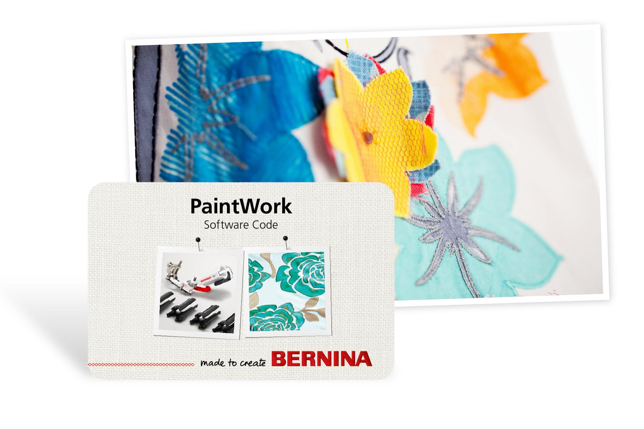 BERNINA PaintWork: Creative Design Tool