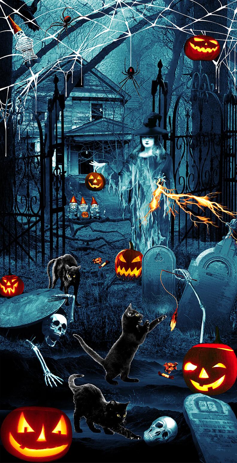 Thriller Night Glow In the Dark Panel Slate