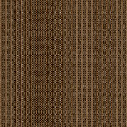 Barn Dance Stripe Brown