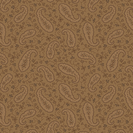 Mayfair 108 brown paisley