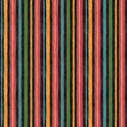 Rake & Bake - Stripes, Black - by Lily Ford for Blank Quilting