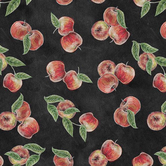 Fabric-Blank Rake & Bake Apples