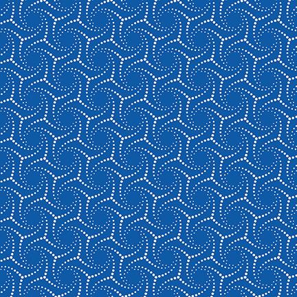 Blue Bayou Dotted Swirl Navy