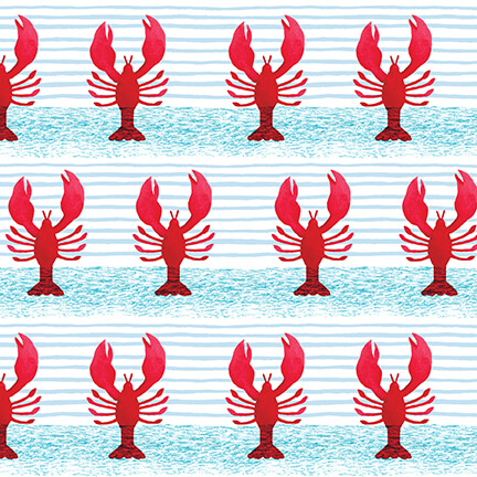 Harbor Days -- 1155-88 Lobsters/Red