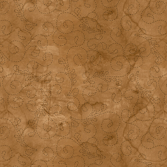 108 Stitch Quilt Back Fawn