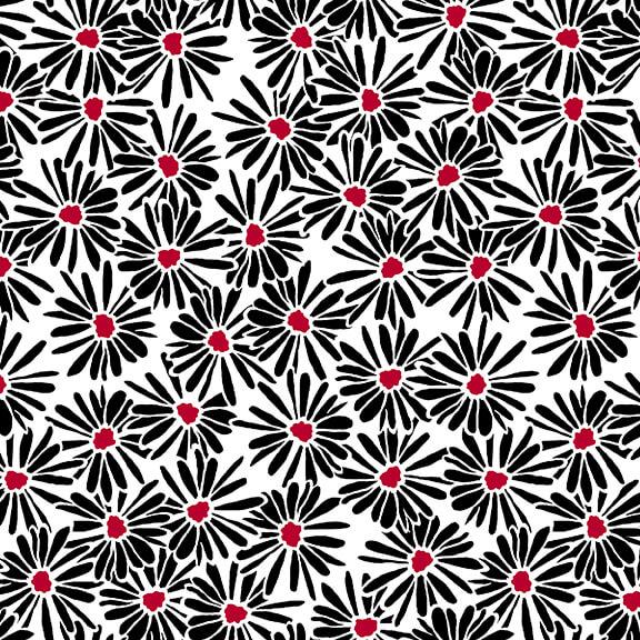 RED ALERT -Daisies White