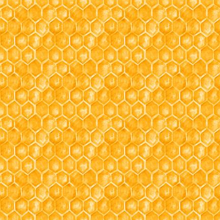 SHOWMETHEHON-B-1342-44 Yellow Honeycomb
