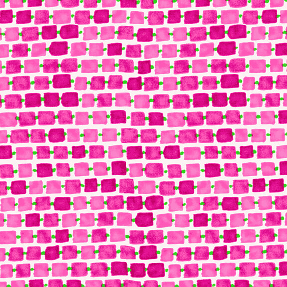 WHIMSY DAISICAL - Rectangles Pink