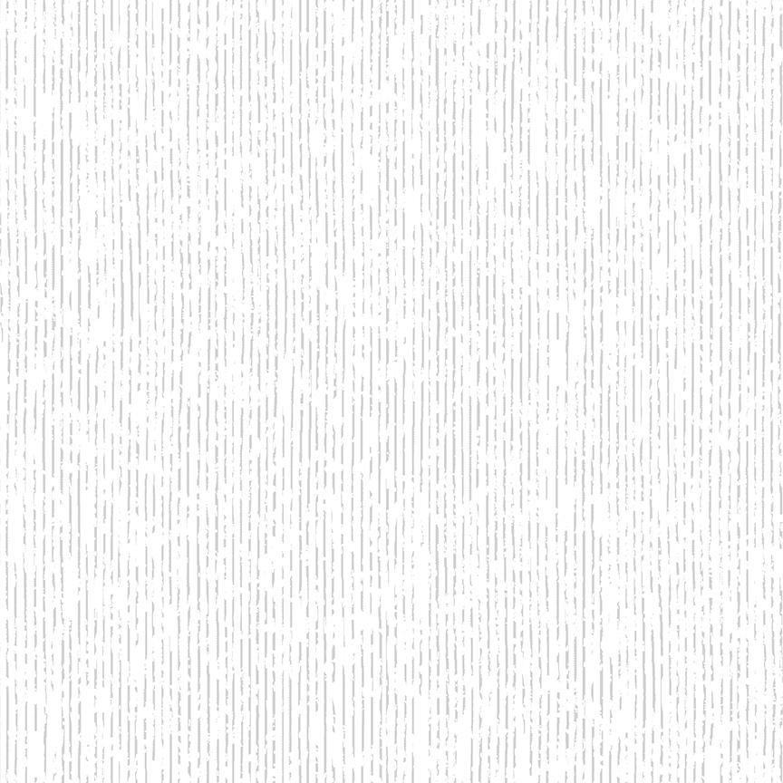 Christmas is Near - Stripe Silver on White