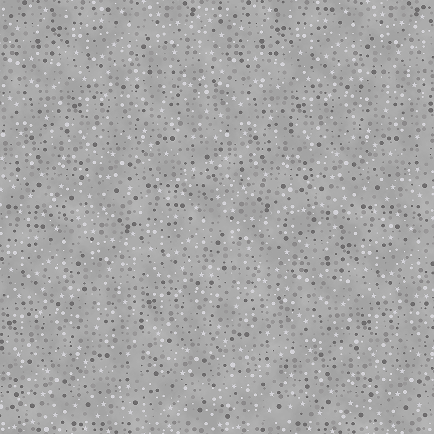 Christmas is Near - Dots - Grey/Silver
