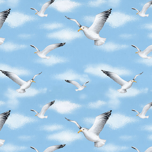 9533-70 seagulls and sky