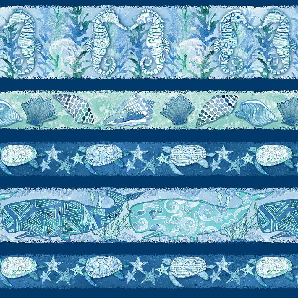 Sea Glass Stripe