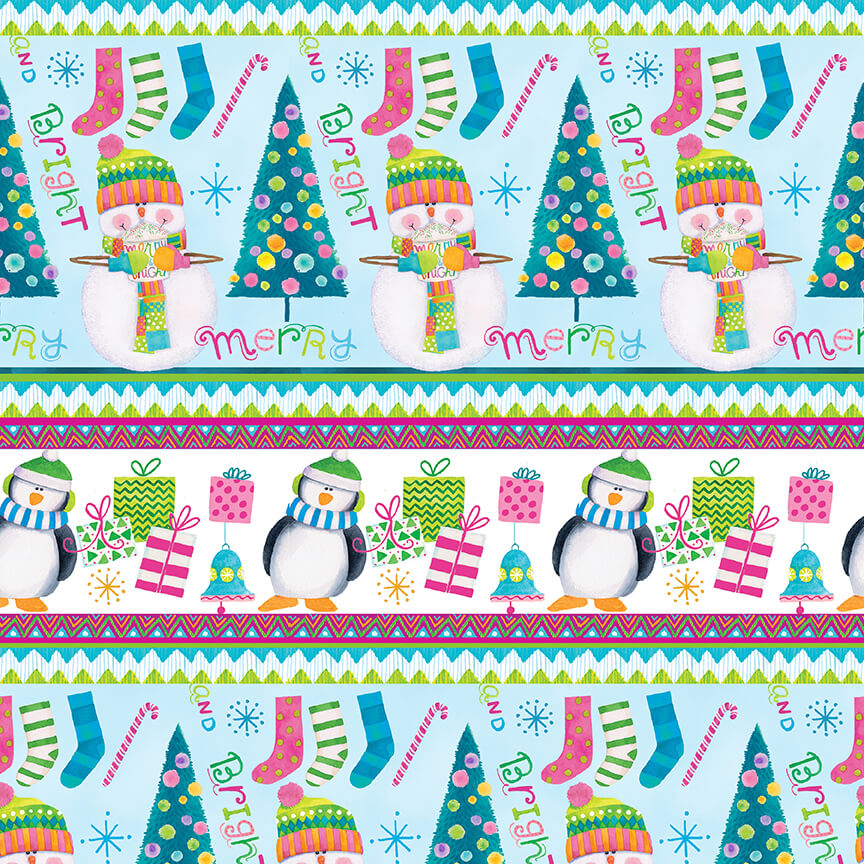 By Golly Get Jolly! - Stripe - 9566