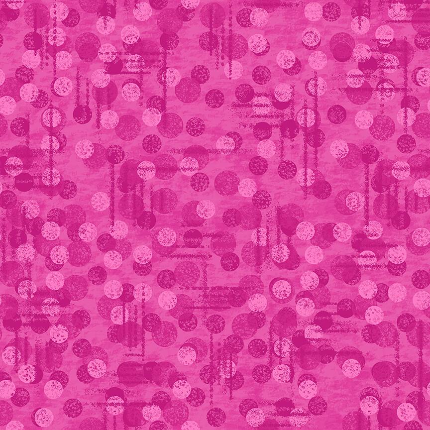 Blank Quilting Jot Dot Tonal Texture - 9570-22, Fuschia
