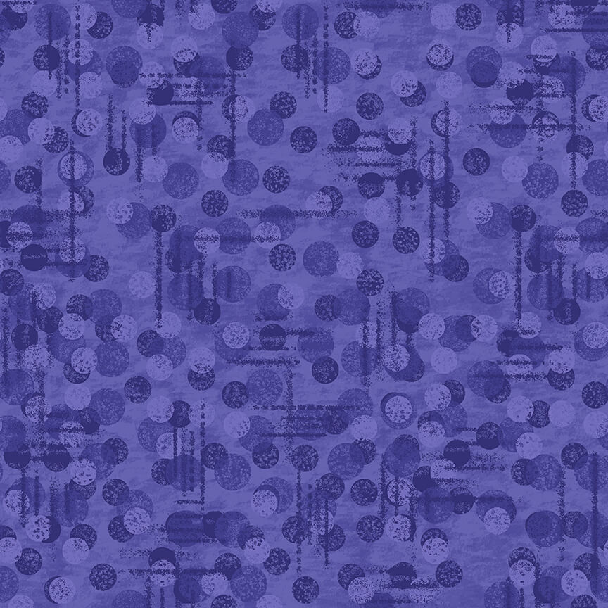 9570-55 Purple jotdot