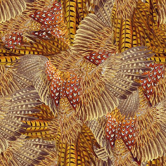 Pheasant Run Tan Feathers